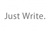 Just Write by Sean MacEntee