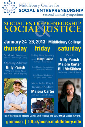 Middlebury Center for Social Entrepreneurship - 2nd Annual Symposium