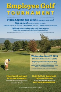 employee golf poster May 27 2015
