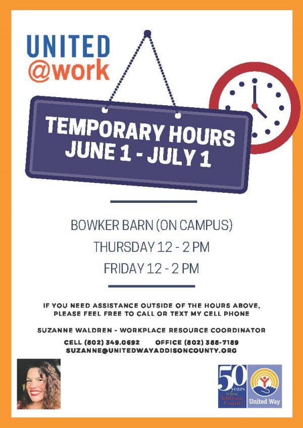 United at Work Temporary Hours