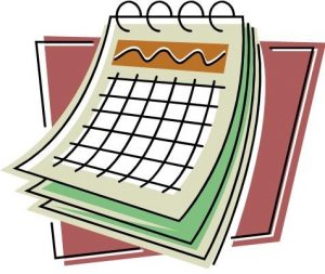 Holiday/Floating Holiday Schedule FY20