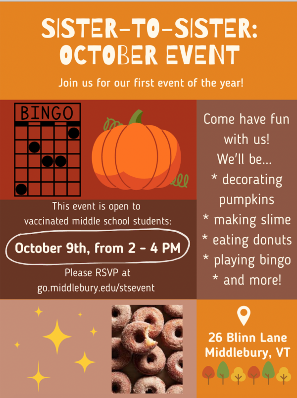 Sister-to-Sister Fall Event
