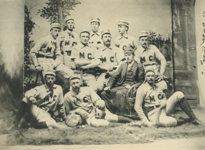 1891 Middlebury Baseball team photo