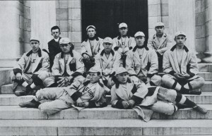 1913 Middlebury Baseball team photo