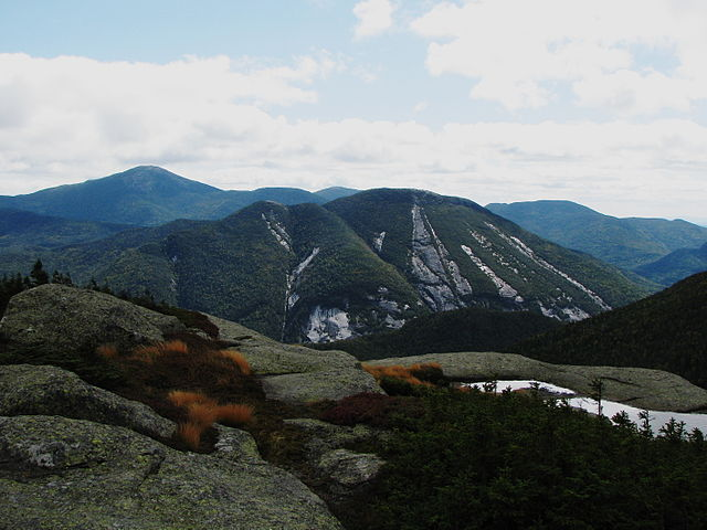 View from Wright Peak. Source: https://commons.wikimedia.org/wiki/File:Mount_Colden_from_Wright_Peak.jpg