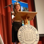 Bille Borden \'09 speaks about her involvement with carbon neutrality at Middlebury