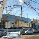 Biomass gasification plant at Middlebury College