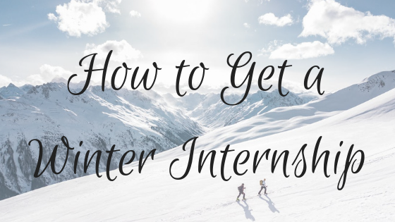 How to get a Winter Internship