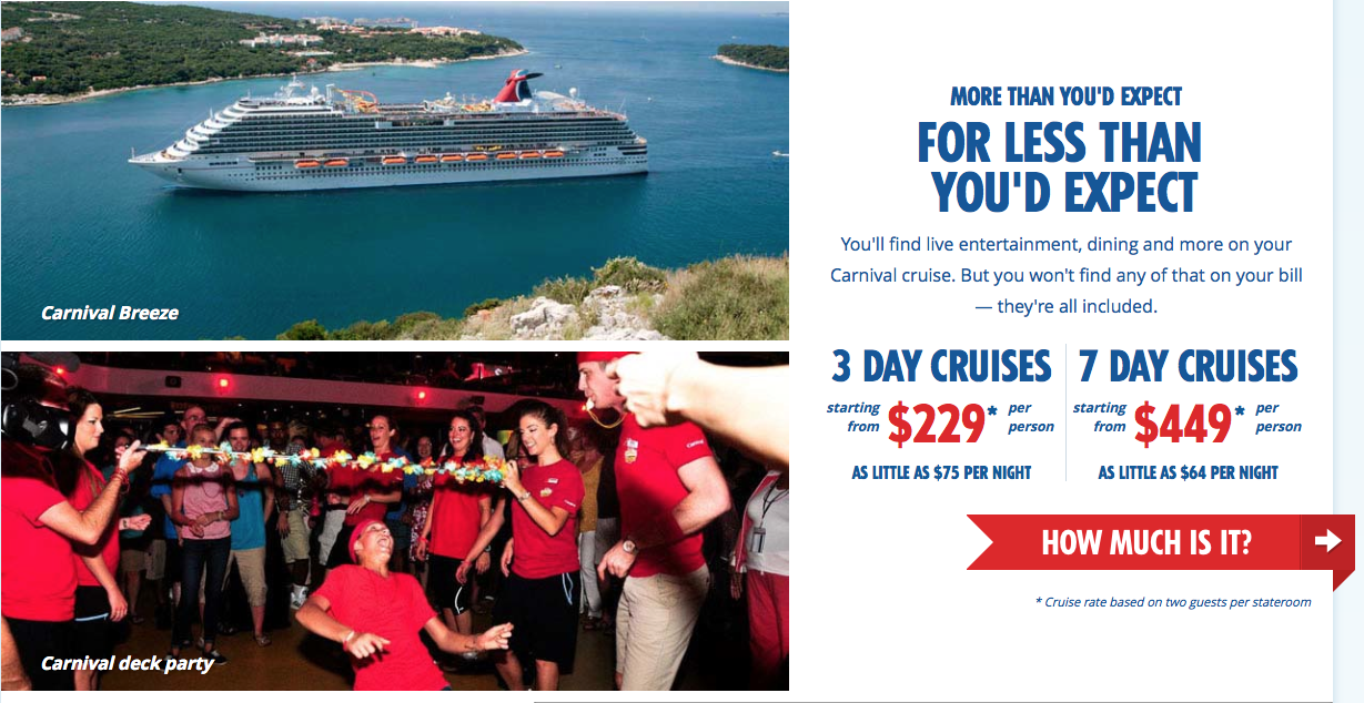 Carnival Id Rather Be Cruising - Example of cruise ship