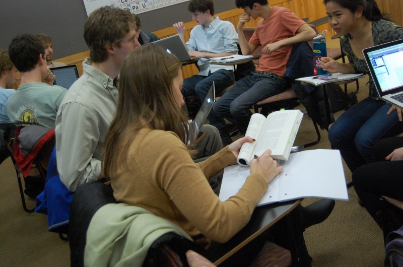 Students in j-term class 2013