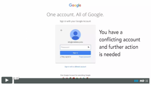 Middlebury Google Accounts video