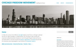 Chicago Freedom Movement web site