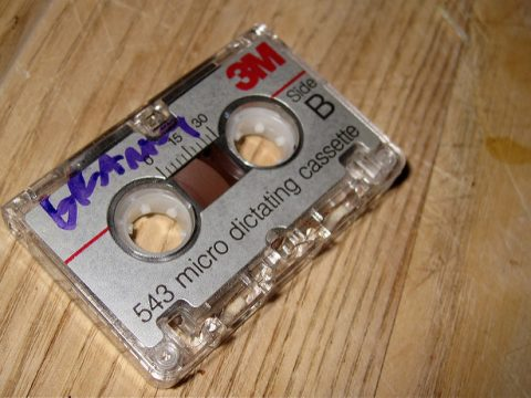 Granny's Tape by Alan Levine on Flickr at https://flic.kr/p/5Rimse