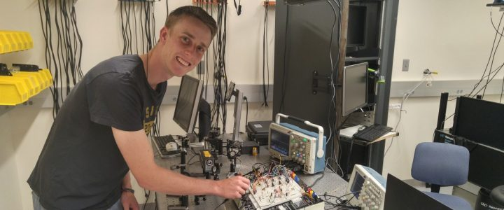 Bennett Doherty ('18) wins the Robert K. Gould Prize in Physics