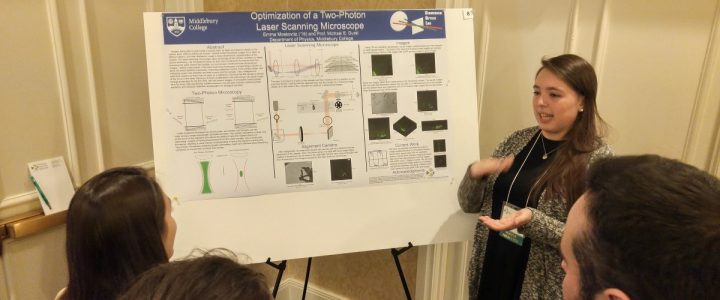Lab Student Presents Her Research at VGN Career Day 2018