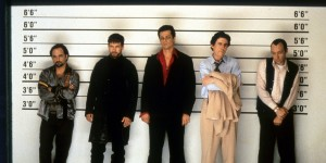 Stephen Baldwin And Gabriel Byrne In 'The Usual Suspects'