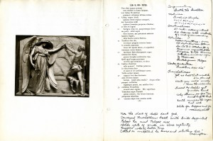 1918 Latin Notebook by Ruth Hesselgrave