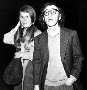 Woody Allen and Louise Lasser, his second wife.