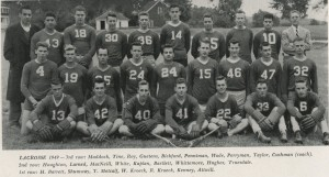The first Middlebury lacrosse players