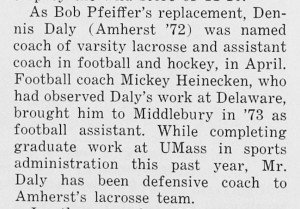 coach dennis daly named replacement