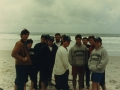1984-team-west-coast-trip-at-beach-special-collections
