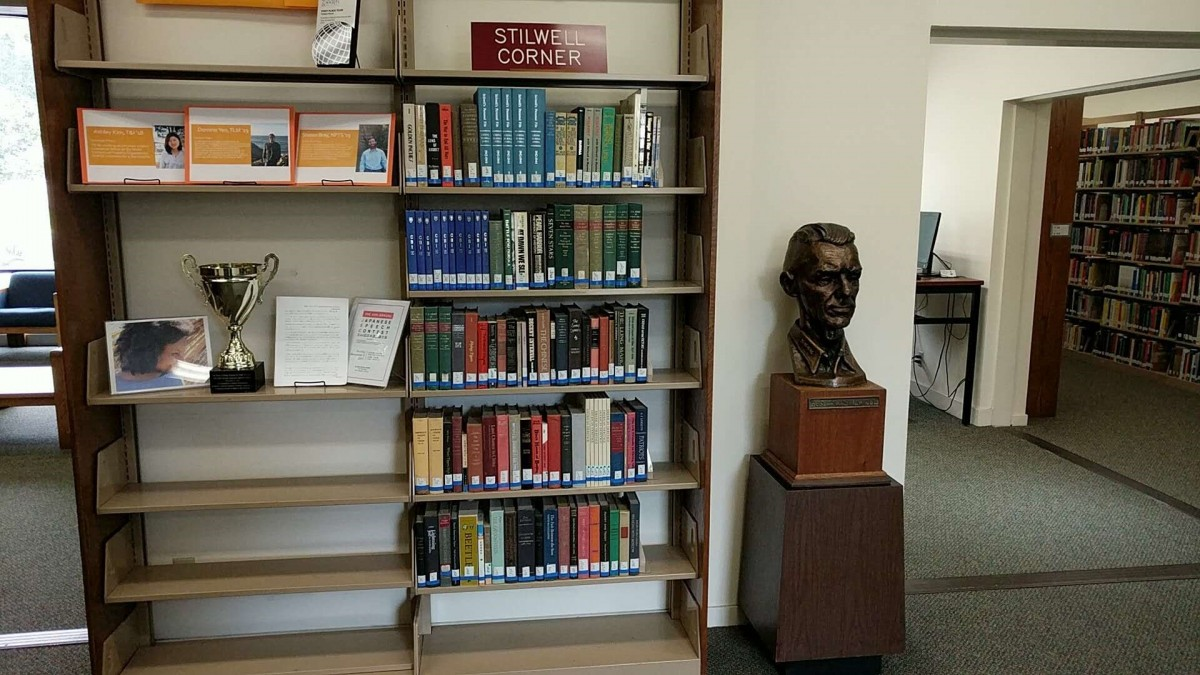 General Stillwell Collection at Middlebury Institute of International Studies Library, Montery, CA