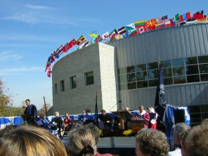Main Library Dedication Ceremony, October 2004
