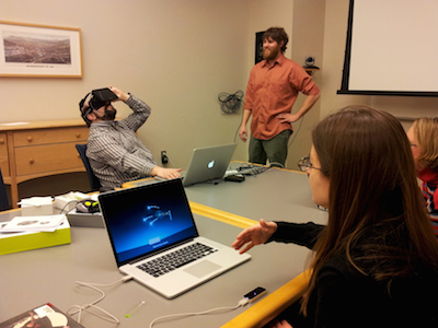 Oculus Rift and LeapMotion