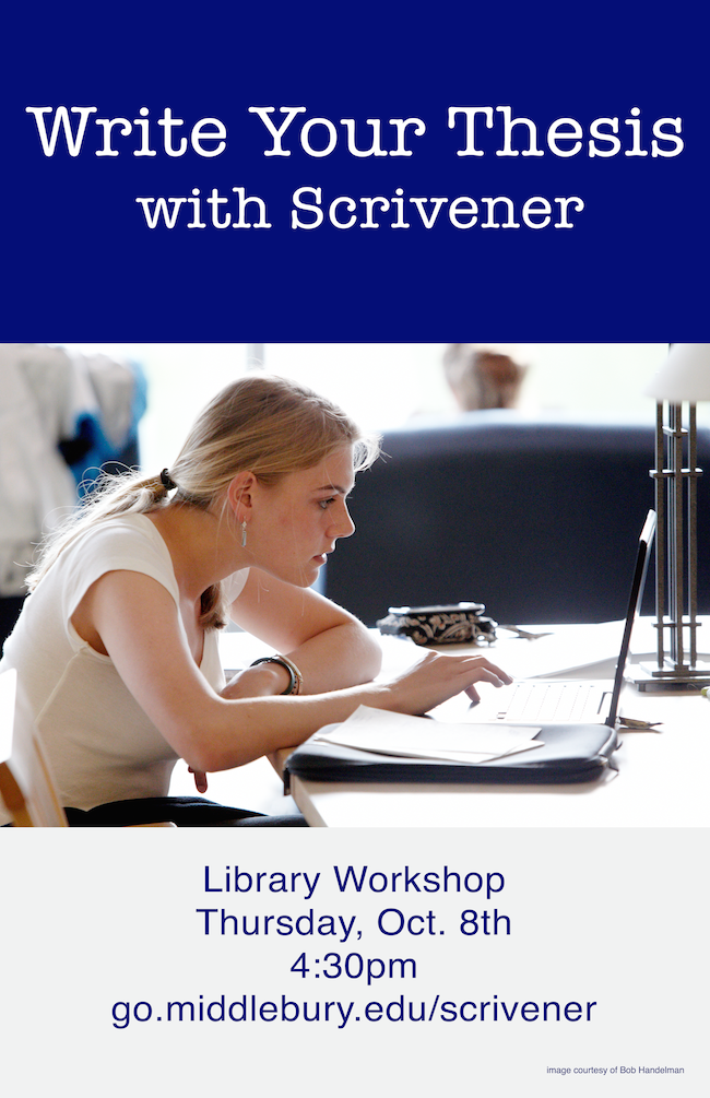 scrivener and thesis During my recent masters degree, i wrote my long essays and dissertation in a  few different applications, largely because i had become.
