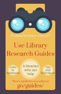 Use Library Research Guides