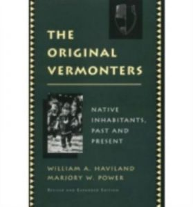 Cover art from The Original Vermonters