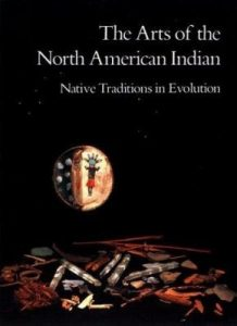 Cover art to The Arts of the North American Indian edited by Edwin L. Wade
