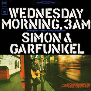 Cover Art for a Simon and Garfunkel album, Wednesday Morning, 3AM
