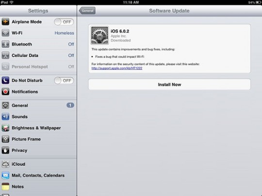 Software-Update-on-iPad