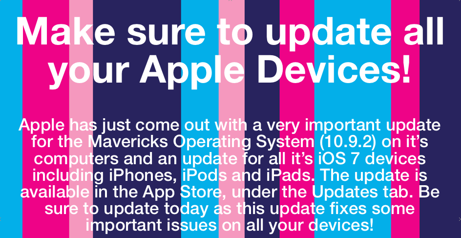 Apple Update Flyer