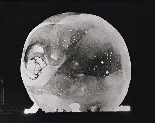 Atomic Bomb Explosion, by Harold Edgerton