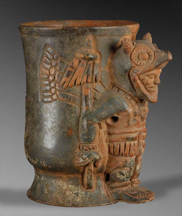 Warrior Effigy Vase, Chipal, Guatemala