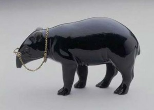 Obsidian Tapir, firm of Fabergé