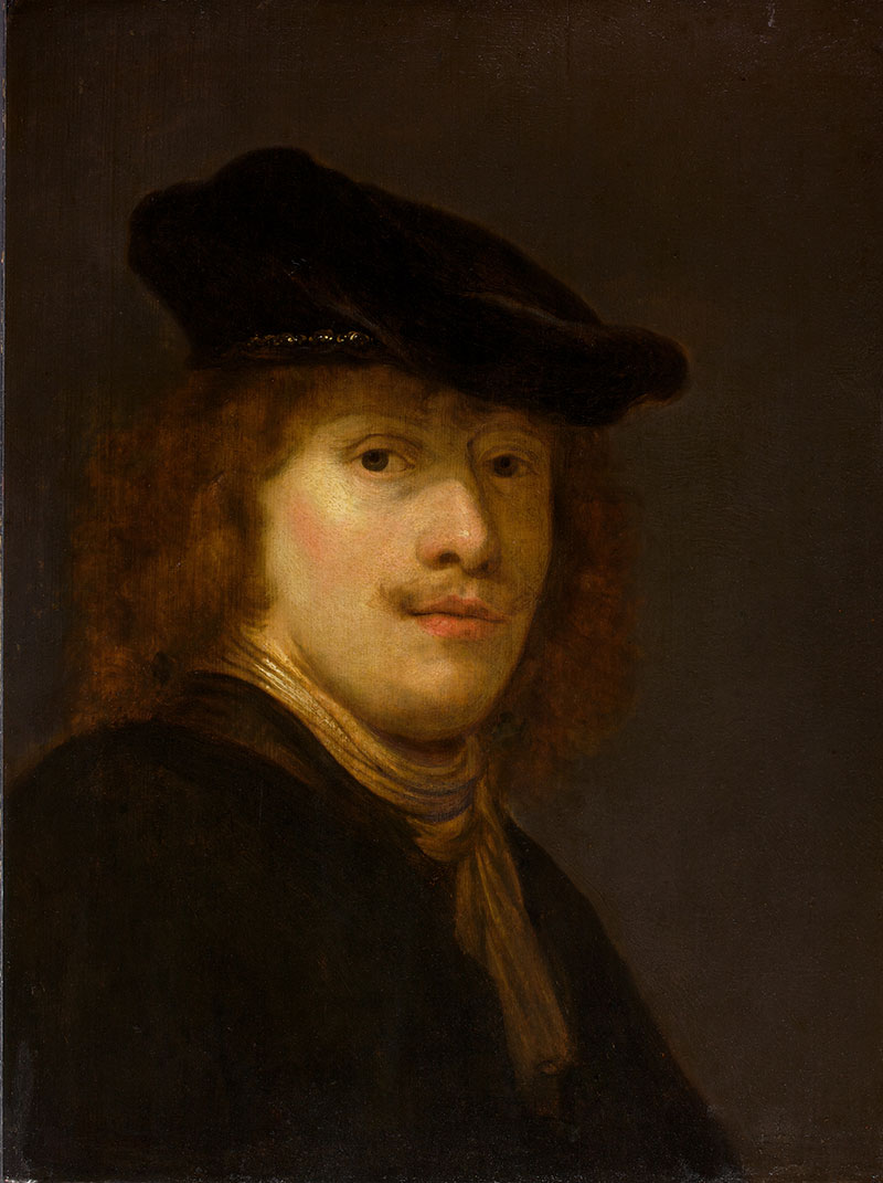 Govaert Flinck, Portrait of a Man, possibly a self portrait