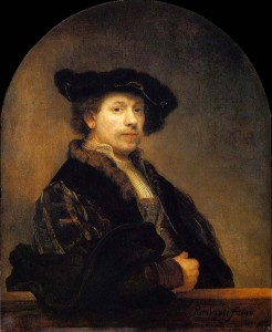 Rembrandt van Rijn, Self-Portrait at age 34