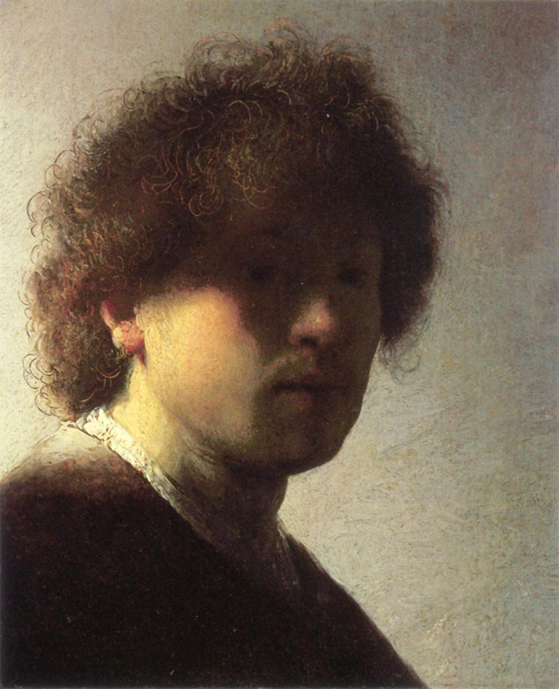 Rembrandt van Rijn, Self-Portrait at an Early Age