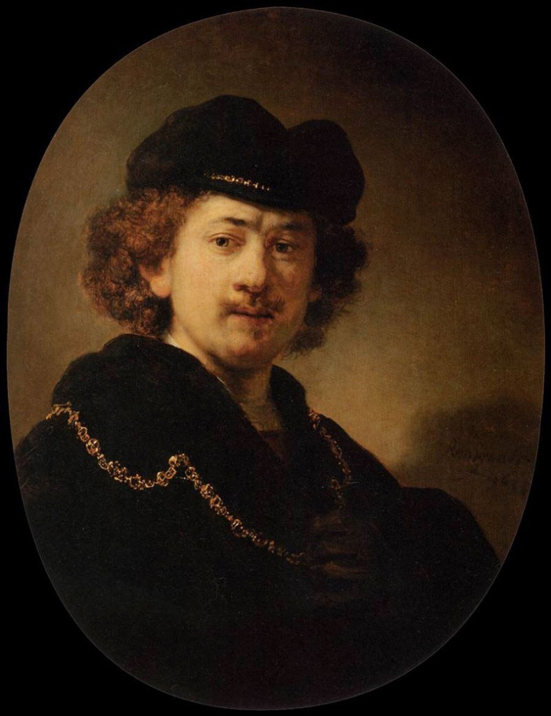 Rembrandt van Rijn, Self-Portrait in Cap