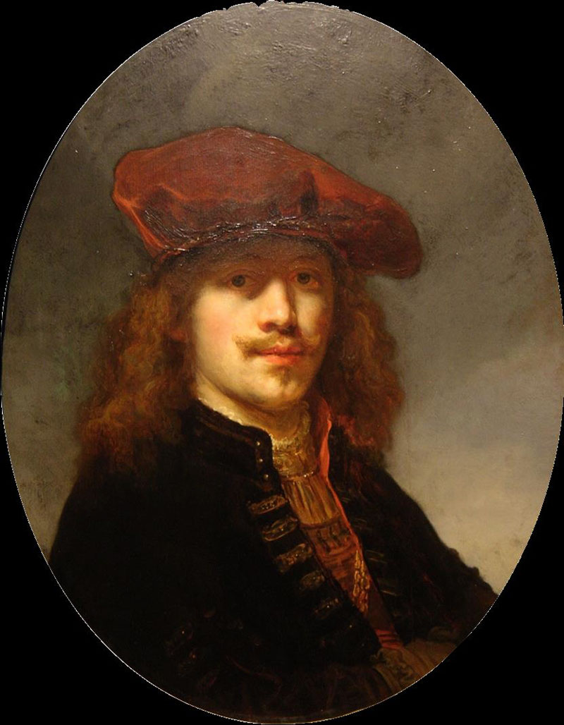 Govaert Flinck, Self-Portrait with Beret