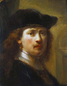 Govaert Flinck, Portrait of Rembrandt, Half Length