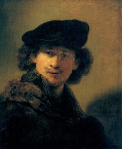 Rembrandt van Rijn, Self-Portrait in a Cap and Fur-Trimmed Coat