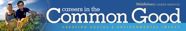 Careers in the Common Good