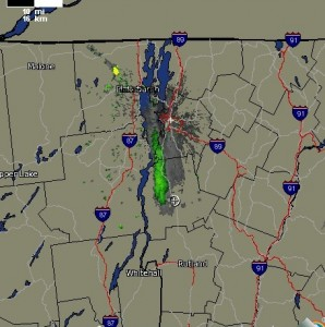 Lake Effect Snow Radar Map