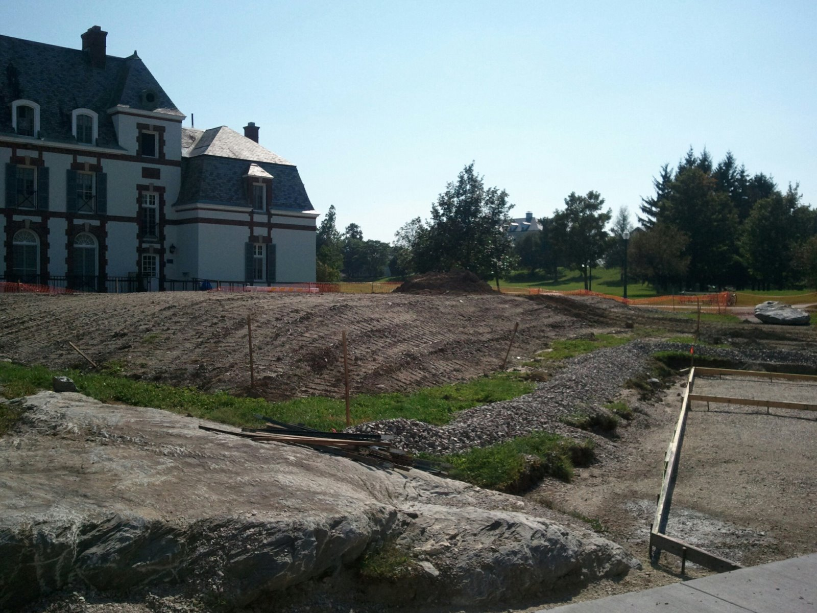 The Middlebury Landscape Atwater Construction Turf Battle