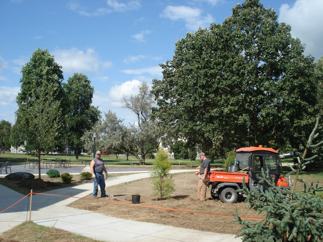 McCullough Plaza Plantings