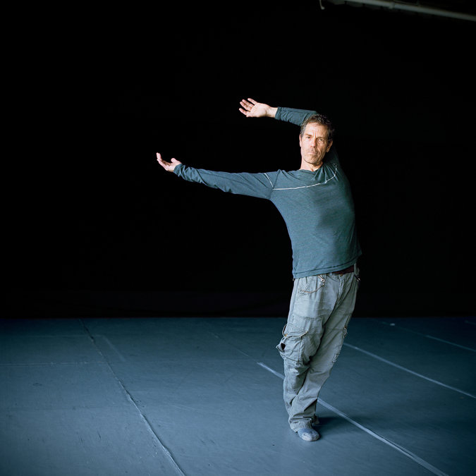 Image from the New York Times Ohad Naharin, the artistic director of the Tel Aviv–based Batsheva Dance Company and the inventor of Gaga, a vocabulary that provokes dancers to respond to ideas and their own sensations to create precise forms. Credit Michal Chelbin